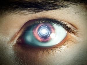 Oeil de robot