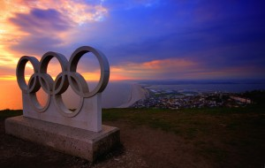 Signe des Jeux Olympiques