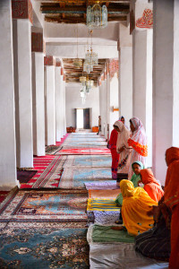 Islamic women praying