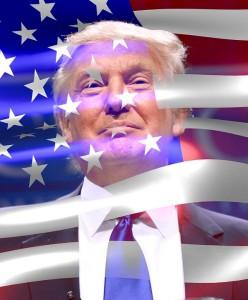 Donald Trump_drapeau EUA