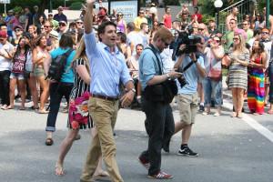 Justin Trudeau_Marche de la fierte