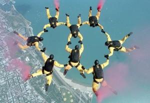 Parachutistes