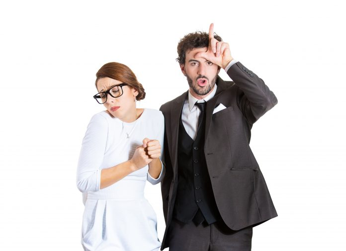 https://image.shutterstock.com/z/stock-photo-closeup-portrait-couple-business-people-bully-husband-man-standing-upfront-angry-giving-bully-195889853.jpg